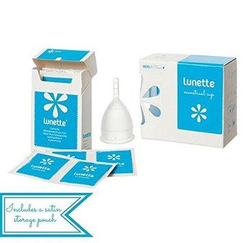 Lunette Menstrual Cup - Starter Kit - Coral Model 1 & Wipe