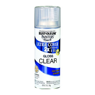 Painter's Touch Aerosol Paint, Gloss Clear