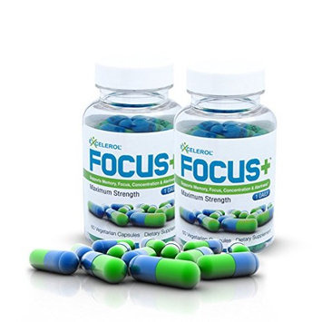 FOCUS+ Brain Supplement And Memory Support Pill