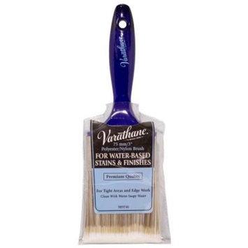 Varathane 3 in. Bristle Water-Based Brush (5-Pack)