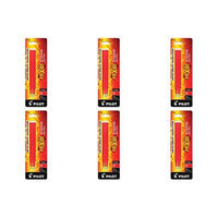 Pilot PIFX7R3RED-6PACKS Refill for Frixion Erasable Gel Ink Pen Assorted