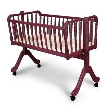 Jenny Lind Cradle Finish: Cherry