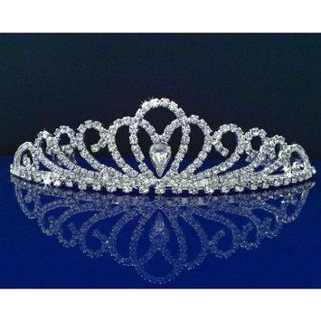 SparklyCrystal Rhinestone Bridal Wedding Prom Crystal Crown Tiara 24326
