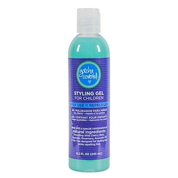 GOTCHA COVERED Head Lice Prevention Styling Gel | 1 Bottle 8.45 oz | Safe for Kids [1]