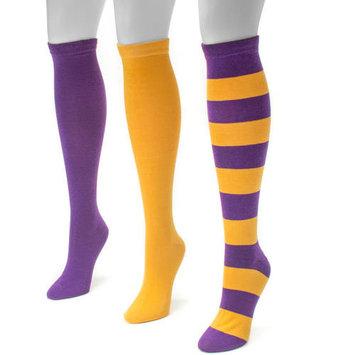 Game Day 3 Pair Pack Knee High Socks