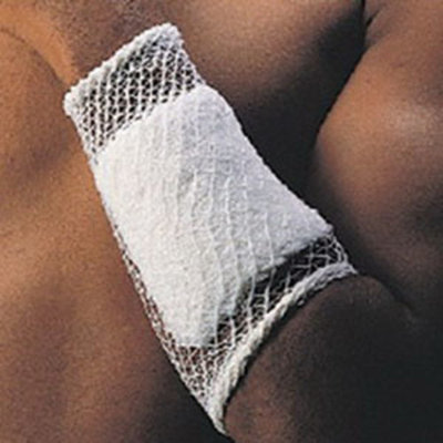 Stretch Net Tubular Elastic Bandage, Size 4, 10 yds. (Hand, Elbow, Foot and Knee) [Sold by the Roll, Quantity per Roll : 10 YD, Category : Tubular Bandages, Product Class : Wound Care]