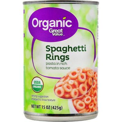 Great Value Organic Spaghetti Rings