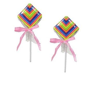 Hair Elastics Lollipops CLASP FREE FLAT ELASTICS