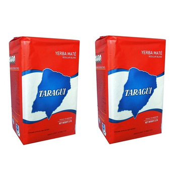 Taragui Yerba Mate with Stems 1 kg (2.2 lbs) 2 Pack