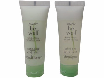 Simply be Well Ginseng Wild Mint Shampoo & Conditioner lot of 4 (2 of each)