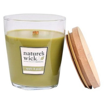 Nature's Wick Jar Candle Apple & Pear 10oz - Nature's Wick®