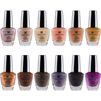 The SHANY Earth Collection Nail Polish Set - 12 Nude and Natural Shades