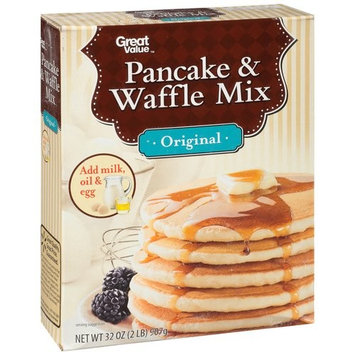 Great Value Original Pancake & Waffle Mix, 32 oz