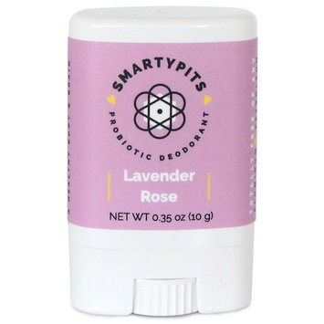 SmartyPits - Natural/Aluminum Free Prebiotic Deodorant (Lavender Rose) (Travel-Size (Single))