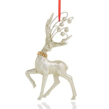 Glitter Deer Ornament, Created for Macy's