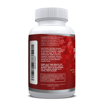 Extra Strength Saw Palmetto Herbal Supplement For Prostate Health - Prostate Support Formula to Reduce Frequent Urination and DHT Blocker to Prevent Hair Loss - Non GMO, GLUTEN FREE
