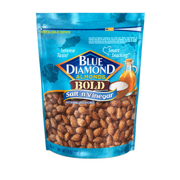 Blue Diamond Almonds Bold Salt 'n Vinegar Almonds, 14 oz