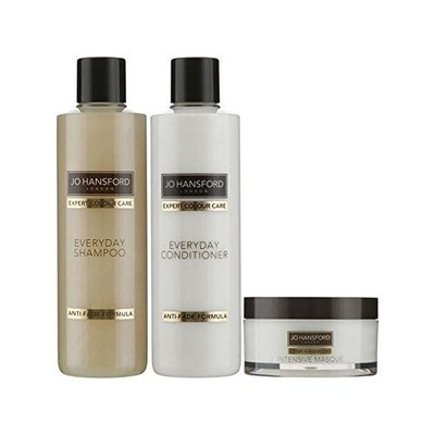 Jo Hansford Expert Colour Care Everyday Shampoo, Conditioner (250ml) With Masque (150ml)