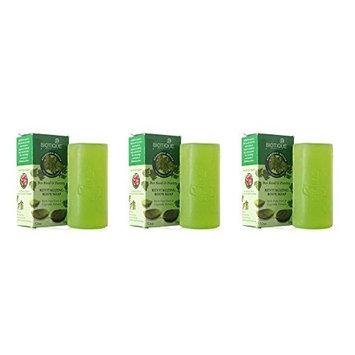 (Pack of 3) Biotique Bio Basil & Parsley Revitalizing Body Soap - 150g : Beauty