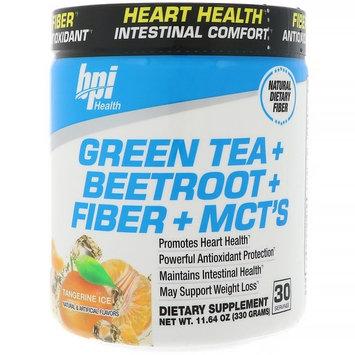 BPI Sports, Green Tea + Beetroot + Fiber + MCT's, Tangerine Ice, 11.64 oz (330 g) [Flavor : Tangerine]