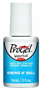 Supernail Progel Nail Lacquer, Biking N' Bali, 0.5 Fluid Ounce