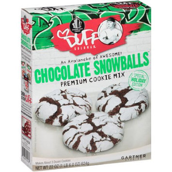 Duff Goldman Chocolate Snowballs Premium Cookie Mix, 22 oz