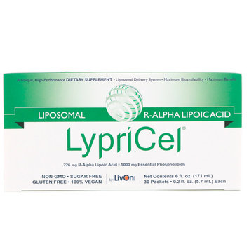 LypriCel, Liposomal R-ALA, 30 Packets, 0.2 fl oz (5.7 ml) Each