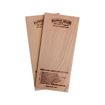 OUTDOOR GOURMET 90278 RED OAK WOOD GRILLING PLANKS, 5 X 11