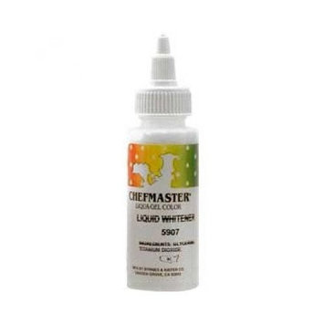 Chefmaster Liquid Whitener Food Coloring, 3.5 Ounce