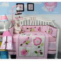 Soho Ladybug party Baby 14 Piece Crib Nursery Bedding Set