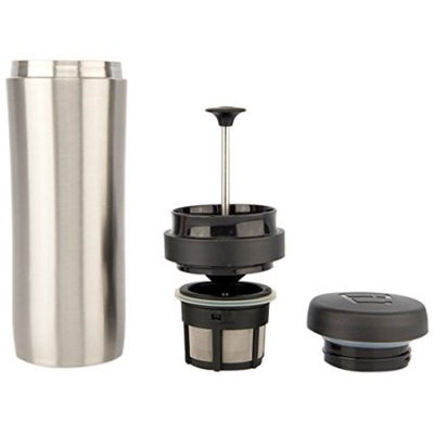 Espro Brushed Travel Press with Coffee Filter 5012C BS