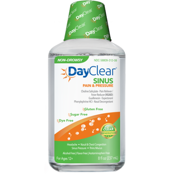 DayClear Sinus Pain & Pressure, 8 Oz