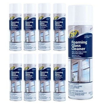 Zep Commercial ZUFGC19 19 Oz Zep Foaming Glass Cleaner (9 pack)
