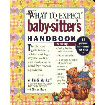 Workman Publishing What To Expect Baby Sitter Book