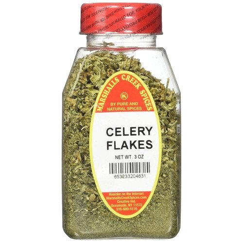 Marshalls Creek Kosher Spices CELERY FLAKES 3 oz