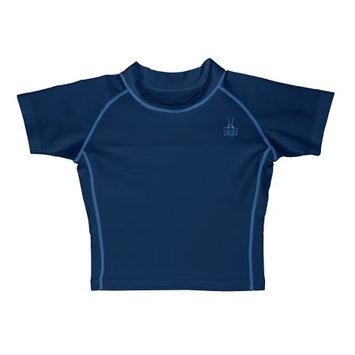 I play Infant/Toddler Boy Short Sleeve Rash Guard Swim Shirt, Navy, Size 12-18 mo.