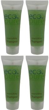 Eco Pure Nourishing Shampoo Lot of 4 each 1oz Bottles. oz (Pack of 4)