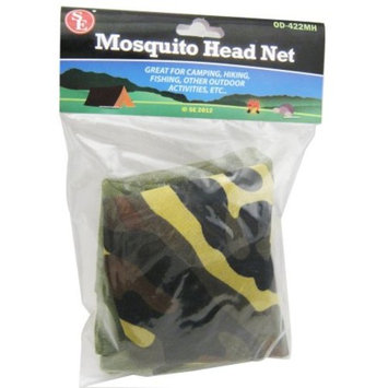 6 Pc Pocket Mosquito Proof Head Net Army Military Mesh Hat Bug Repellant Camping