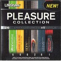 Lifestyles Pleasure Collection Condoms 27 Ct