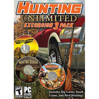 ValuSoft Hunting Unlimited: Expediton 3-pack