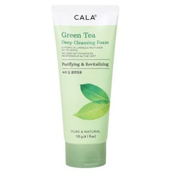 ARRIVAL] CALA GREEN TEA DEEP CLEANSING FOAM PURIFYING & REVITALIZING 4.1OZ : Beauty