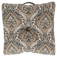 Surya Polyester Decorative Floor Cushion Pillow - 22 x 22 in.