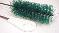 TOUGH GUY 2VHK7 Pipe Brush w/ Hndl, Nylon, Grn,36 In. OAL