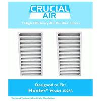 Crucial Brands 2 Hunter 30710, 30711 & 30730 Air Purifier Filter, Part # 30963