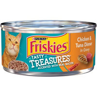 Friskies® Tasty Treasures Chicken & Tuna In Gravy Canned Cat Food