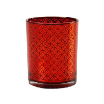 Impulse Roja Glass Votive (Set of 3)