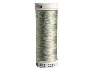 Sulky Rayon Thread 40wt 250yd Seafoam/Coral/Ecru