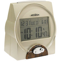 REIZEN Talking Atomic Alarm Clock