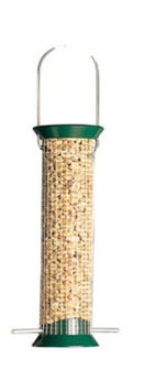 Droll Yankee Platinum Finish Woodpecker Feeding System
