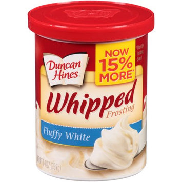 Pinnacle Foods Duncan Hines Whipped Frosting, Fluffy White, 14 Oz